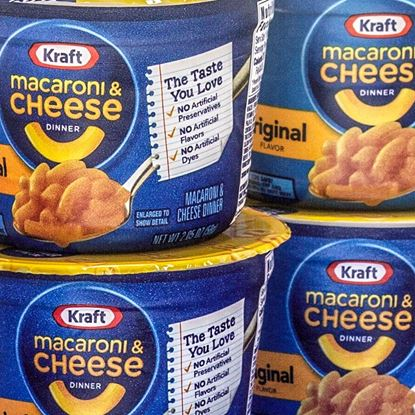 Entrees: Kraft Mac and Cheese 2.05 oz cups