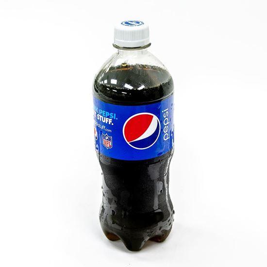 Picture of Beverages: Pepsi, Diet Pepsi, Mugs, Mountain Dew, Sierra Mist, Dr. Pepper, Diet Dr. Pepper 20 oz