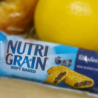Snacks: Nutrigrain bar 1.33-1.55 oz