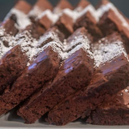 Picture of Party Tray - Chocolate Brownie Tray